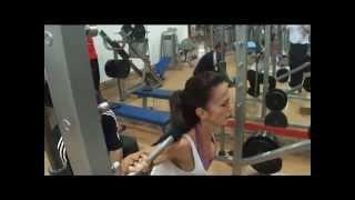Milos Sarcev Training Miriam Sanchez - 2012