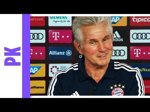 Heynckes' letzte Saison   Bayern-PK