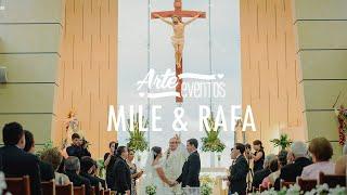 Arte Eventos - Matrimonio Bucaramanga Mile y Rafa - Bodas espectaculares