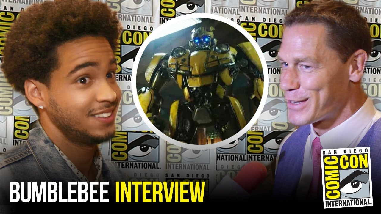 BUMBLEBEE Cast Interview at Comic Con 2018