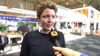 Steffi van Boer zoekt vrouw met Roel bij KWPN hengstenkeuring Den Bosch