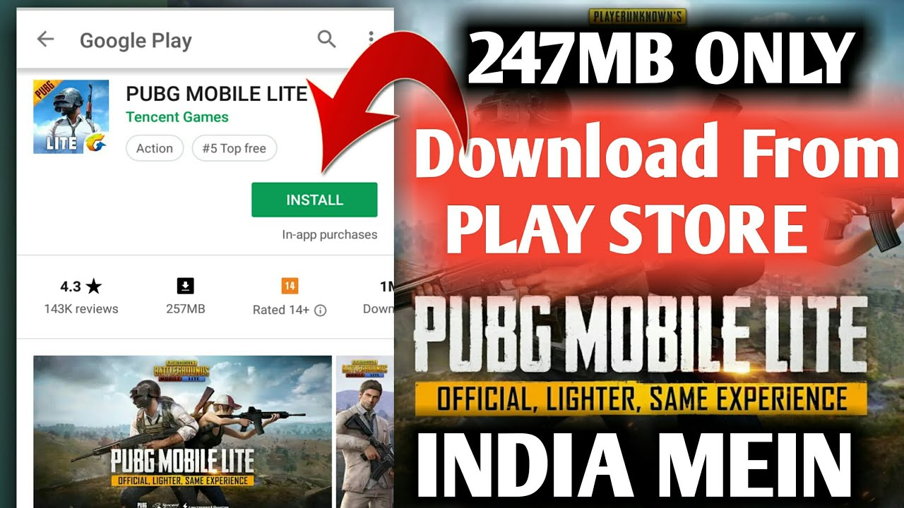 How To Download Install and Play PUBG MOBILE LITE | pubg mobile lite 2018  update