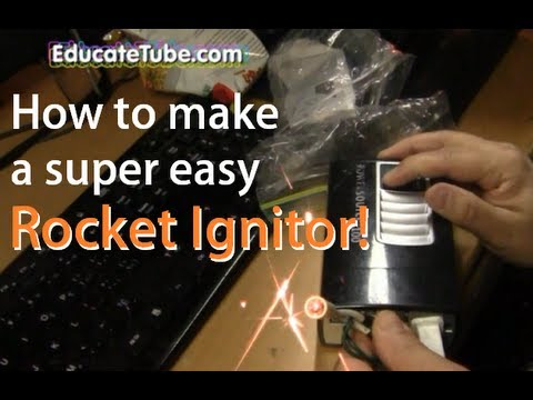 How To Make Battery Packed Rocketry Firework Igniter Or