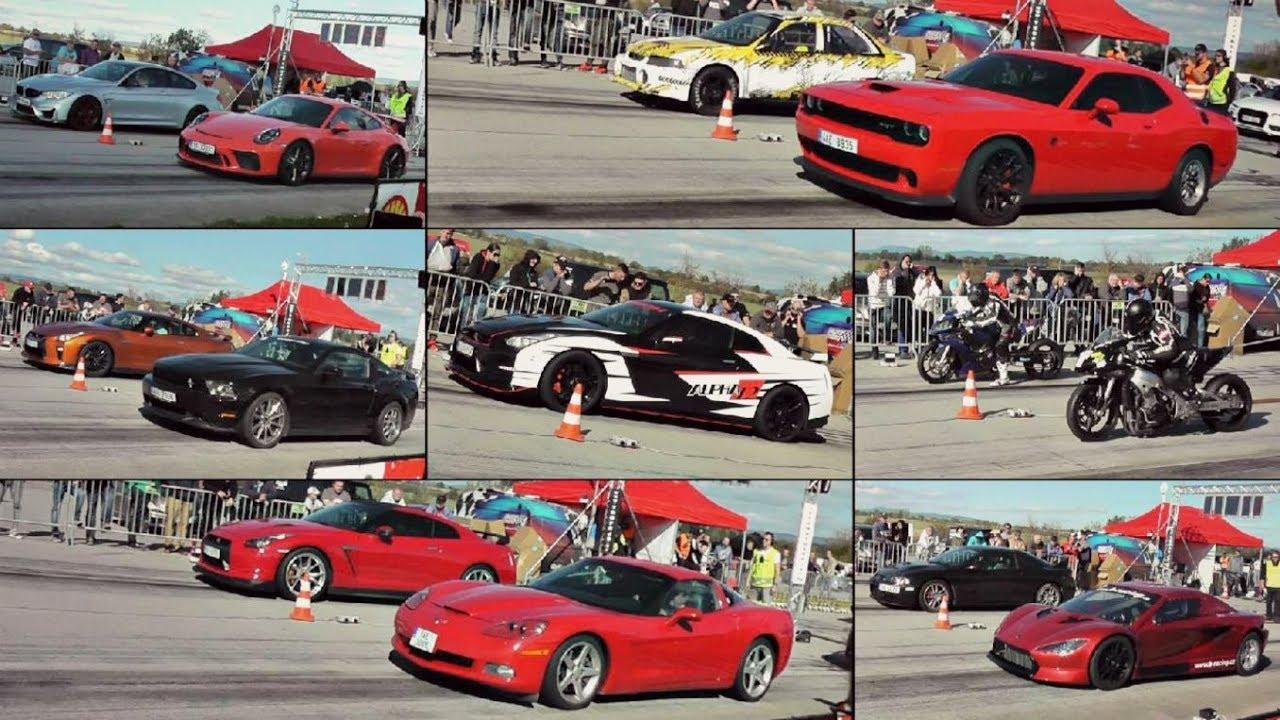 Video Nejrychlejší sprint automobilu na ¼ míle v kategorii Street diesel
