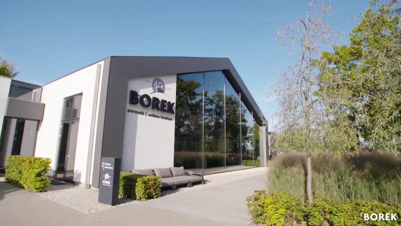 Borek parasols and outdoor furniture 2018 entrance showroom