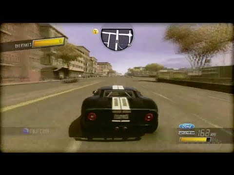driver san francisco ford gt gameplay pc ps3 xbox 360. Black Bedroom Furniture Sets. Home Design Ideas
