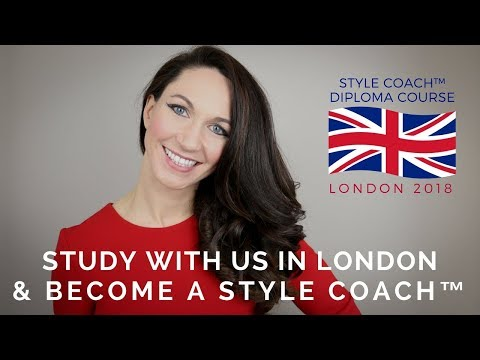 Join us in London for our 2018 Style Coach™ Diploma Course - Registration Open Now!