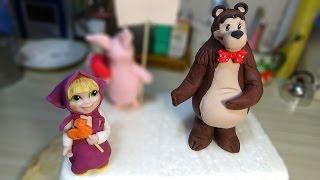 "Фигурки ""Маша и Медведь"" / Figures ""Masha and the bear"" - Я - ТОРТодел!"