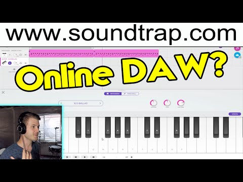 Online Music Maker??  Recording & Mixing on soundtrapcom