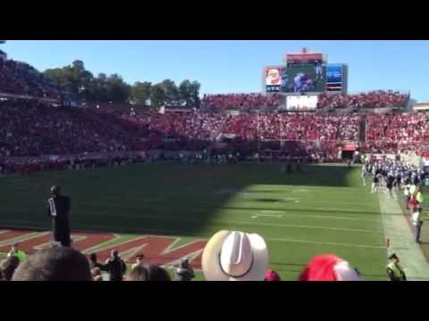 NCSU vs. UNC - Final Play and NCSU Fight Song
