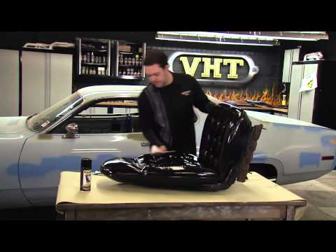 Painting Car Seats with VHT Vinyl Dye – Restoration of 1972 Plymouth Satellite Sebring Plus
