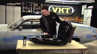 Painting Car Seats with VHT Vinyl Dye - Restoration of 1972 Plymouth Satellite Sebring Plus