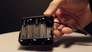 power your camera monitor light with aa batteries 12v battery holder clip