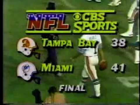 CBS Football Rushed Close - October 1985