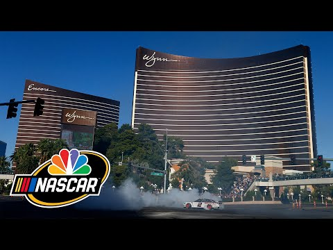 Best burnouts on Las Vegas Strip 2019 (FULL) | Motorsports on NBC
