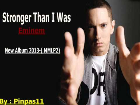 Stronger Than I Was - Eminem (Full Song) New ♫ 2013 +MP3 Album(MMLP2)