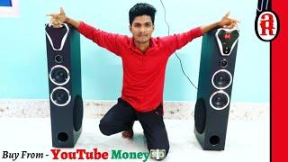 Zebronics ZEB-BT10400RUCF Tower Speaker  I Buy From Youtube Money ??