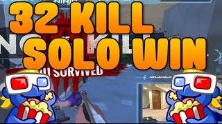 H1Z1 32 Kill Solo Win! thumbnail