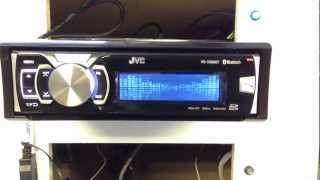 JVC KD-SD80BT Quick Look