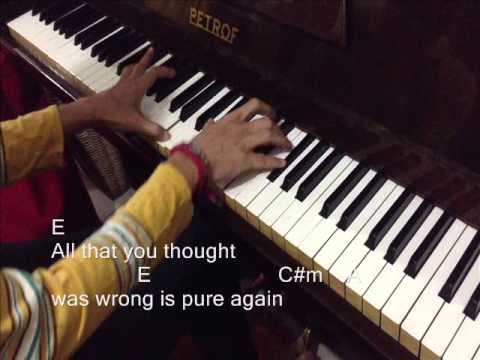 """""""Brave"""" - Josh Groban - Piano Cover With Lyrics And Chords"""