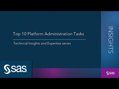 Top 10 Platform Administration Tasks