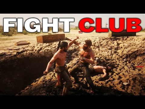 SHIRTLESS BANDITS START FIGHT CLUB | RED DEAD REDEMPTION 2 OUTLAWS #26 thumbnail