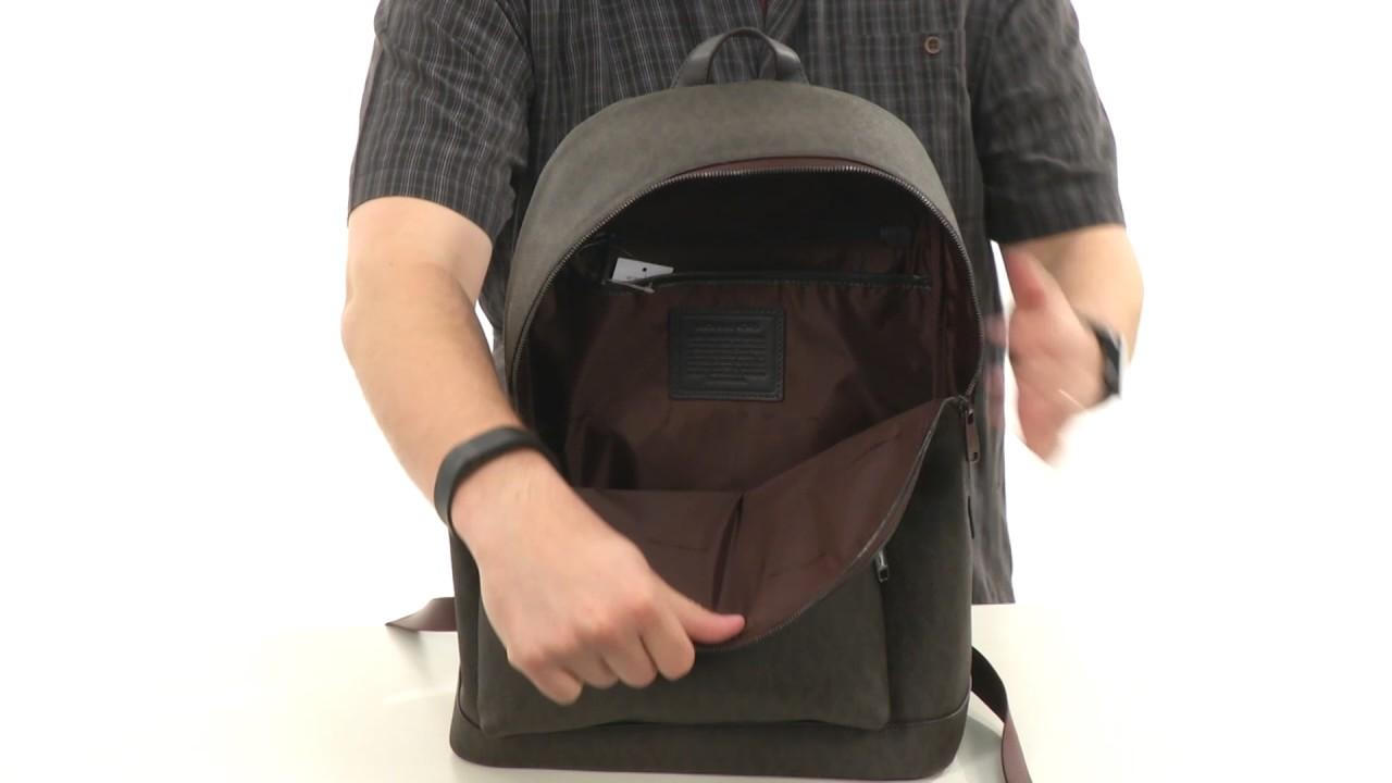 16d884494216 Michael Kors - Jet Set Backpack SKU:8810157 - YouTube