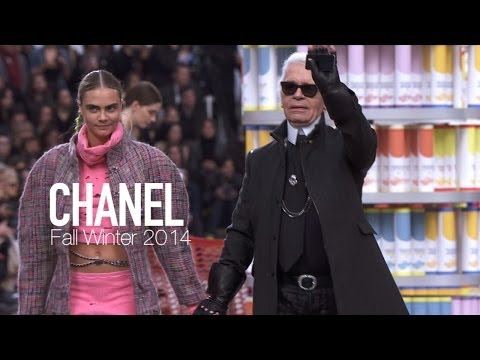 CHANEL FALL 2014 Backstage ft Karl Lagerfeld, Rihanna, Cara Delevingne | MODTV