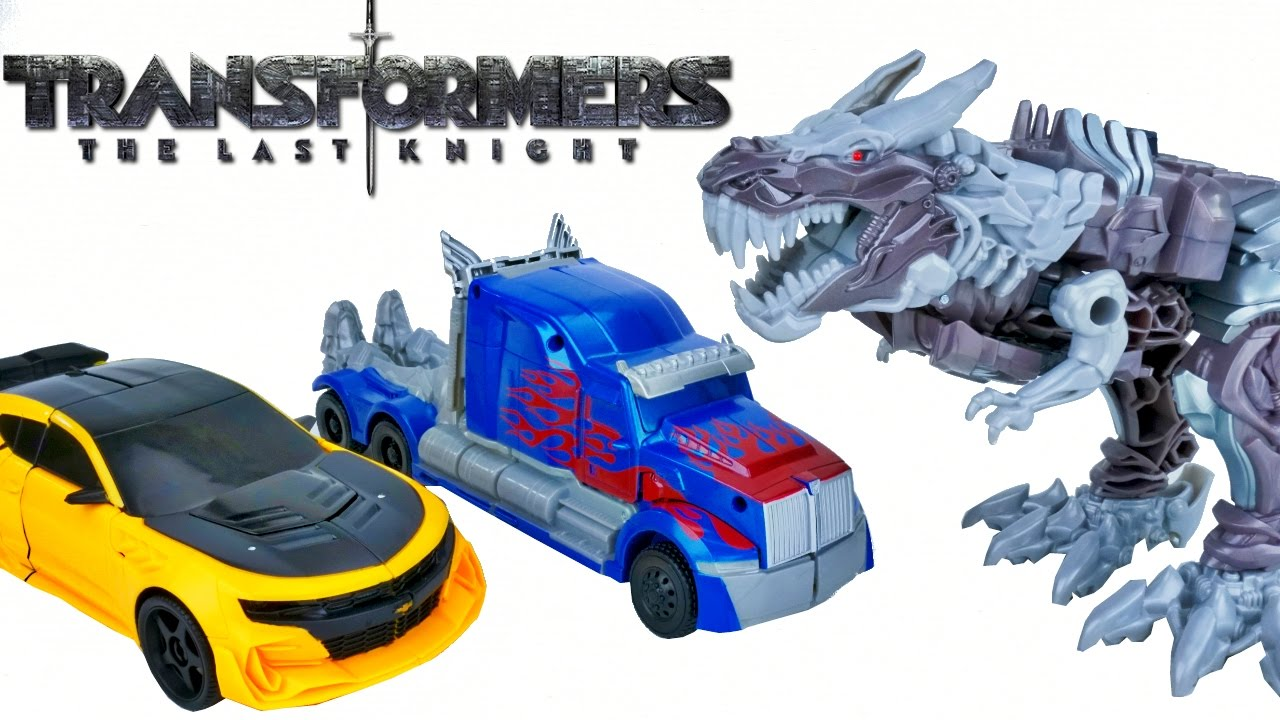 Transformers The Last Knight 1-Step Turbo Changer Figure Autobot-Car Transforms