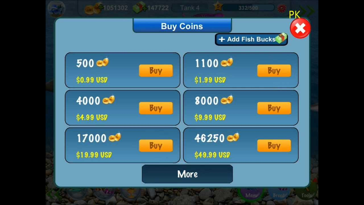 How to hack your cash in tap fish 2 2013 youtube for Tap tap fish cheats