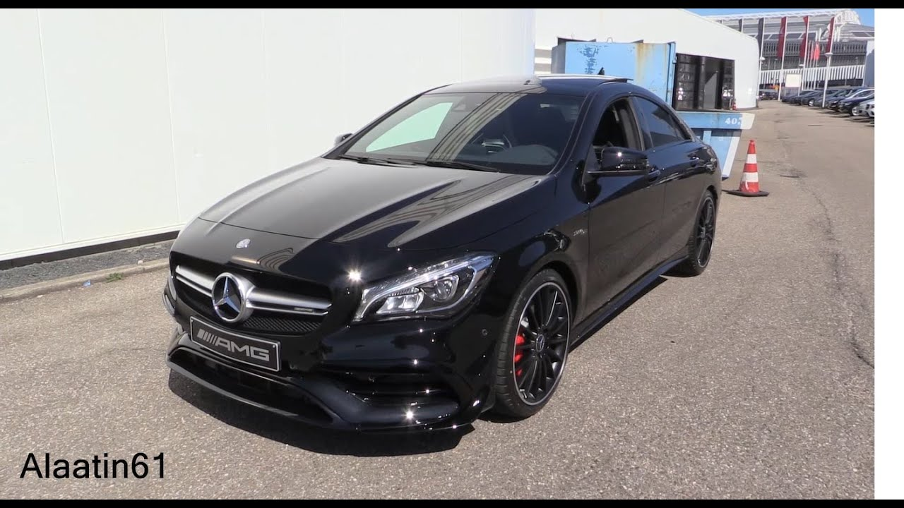 Mercedes Benz mercedes benz cla 45 amg : 2017 Mercedes-AMG CLA45 / Start Up, Exhaust Sound, In Depth Review ...