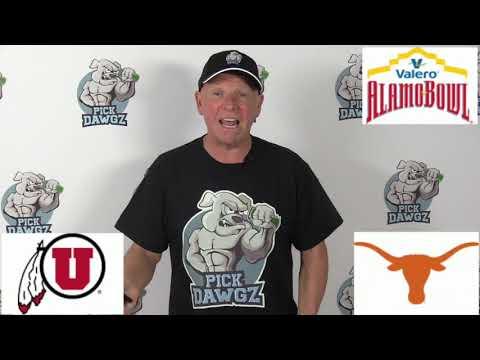 Texas vs Utah 12/31/19 Free College Football Pick and Prediction: Alamo Bowl