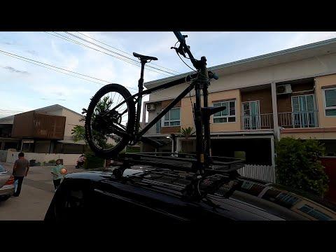 แชร์ประสบการณ์ แร็คจักรยาน แบบสอดแกนล้อ ติดบนหลังคา ผ่านเส้นทางกว่า 2,000 กิโลเมตร : bikeday
