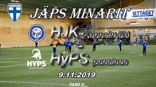 JäPS Minarit HJK kannelmäki vs HyPS P09 punainen 9.11.2019
