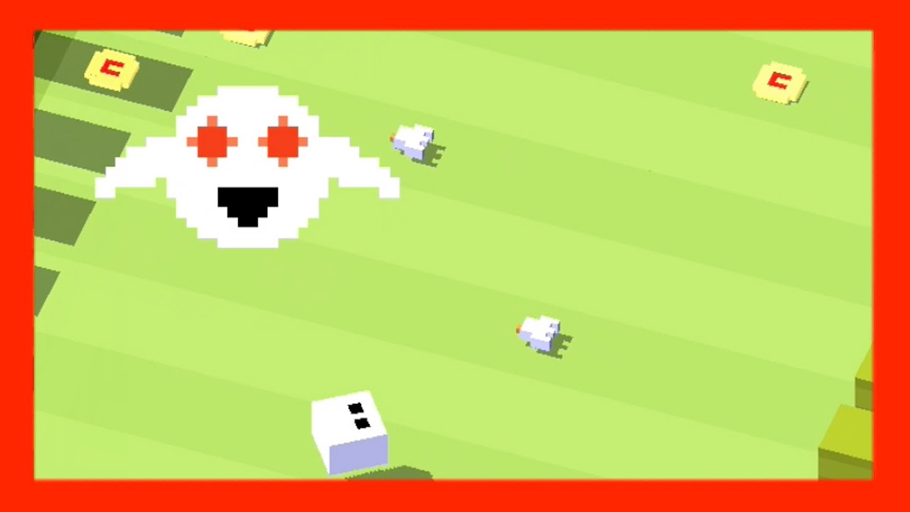 Forget-Me-Not and his Ghost ☆ Crossy Road - Collect 20 ...