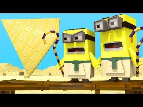 Minions Movie - Cleopatra & The Egypt Pyramids! (Minecraft Roleplay) #4