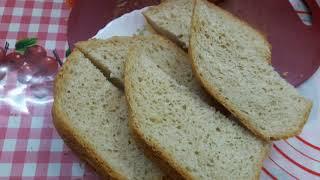 Пшенично ржаной хлеб в хлебопечке Moulinex