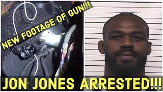 NEW FOOTAGE!!! Jon Jones Arrest Video All Lapel cameras, all involved officers, All Views