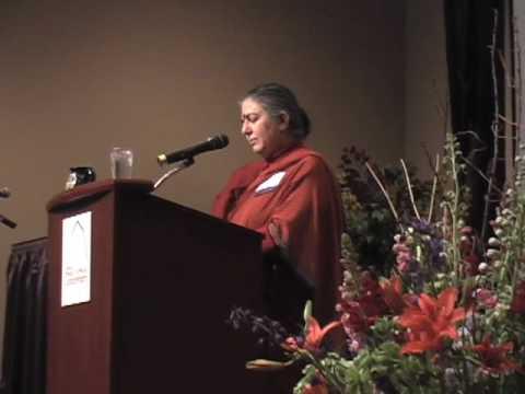Vandana Shiva at MOSES