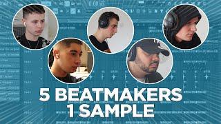 5 BEATMAKERS POUR 1 SAMPLE (ft Soulker Voluptyk Enigma amp; Evi)