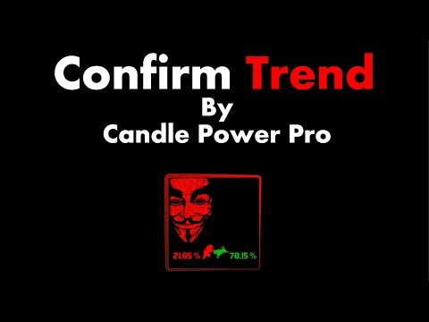 Confirm Trend By Candle Power Pro v1 0 - MetaTrader 4 Indicator 2018