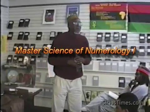 Bro. C. Freeman-El | Master Science of Numerology and Meditation Techniques I (14Mar93)