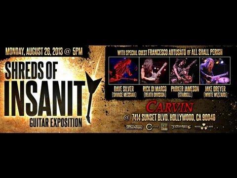 Carvin & Century Media Present: Shreds Of Insanity Full Show