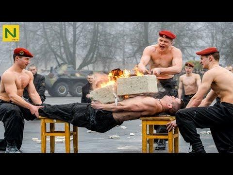 ロシア特殊部隊 スペツナズの格闘術が凄すぎる!