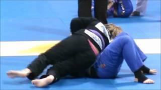 "Chris ""Cyborg""  Santos vs Amanda Lucas: 2011 World Jiu-Jitsu Championships"