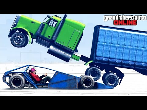 GTA 5: Online - Holiday Special feat. Stunts, Funny Moments & Fails
