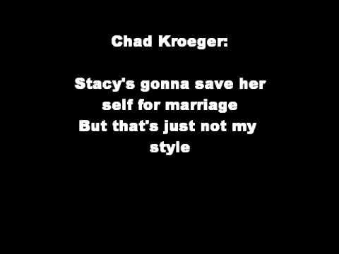Porn Star Dancing Lyrics