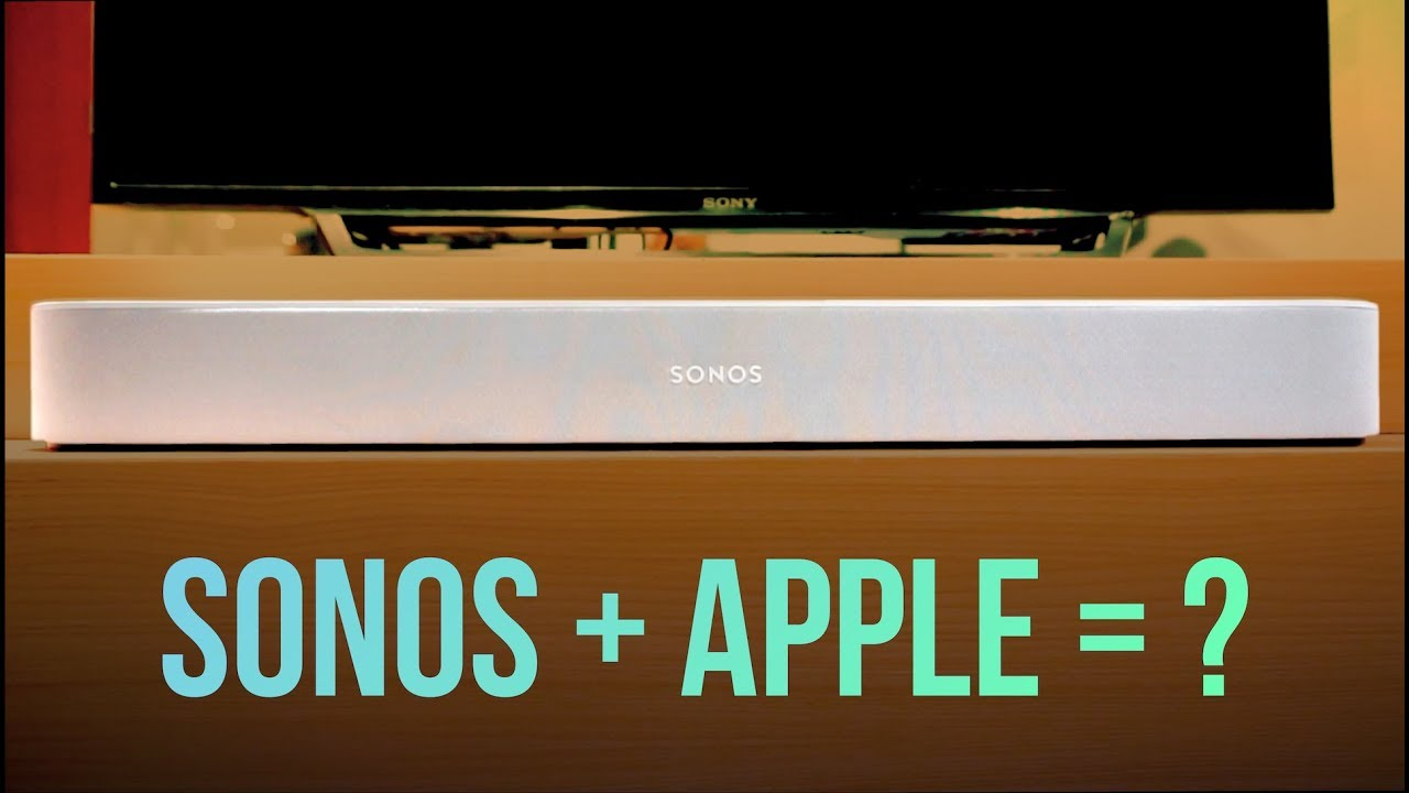 Sonos Beam First Impressions, Airplay 2 and More
