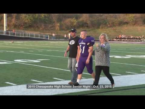 Fall Sports Senior Night - Chesapeake High School