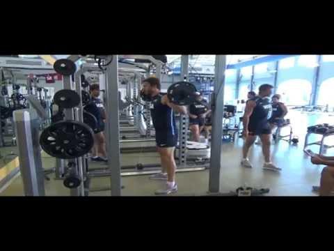 Juan Martin Hernandez | Jump squat | Rugby Strength Coach